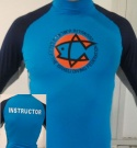 Lycra shirt for the guide